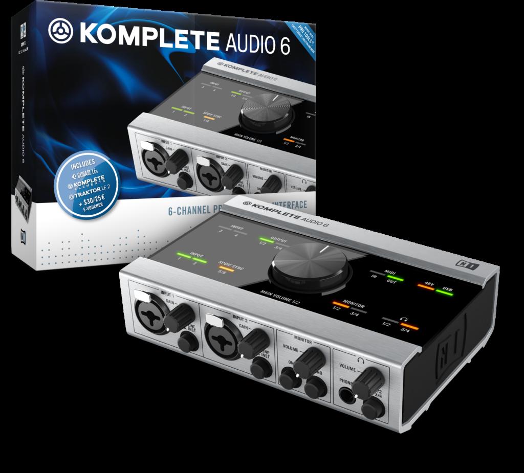 NI Komplete Audio 6 Box