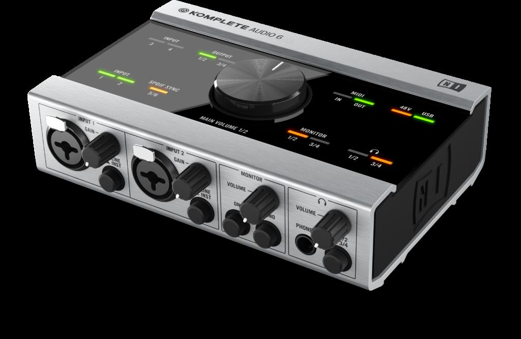 NI Komplete Audio 6 Prespective