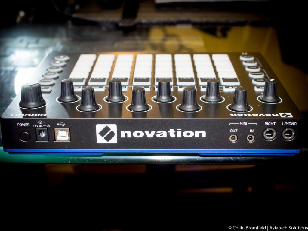 Novation Circuit Rear