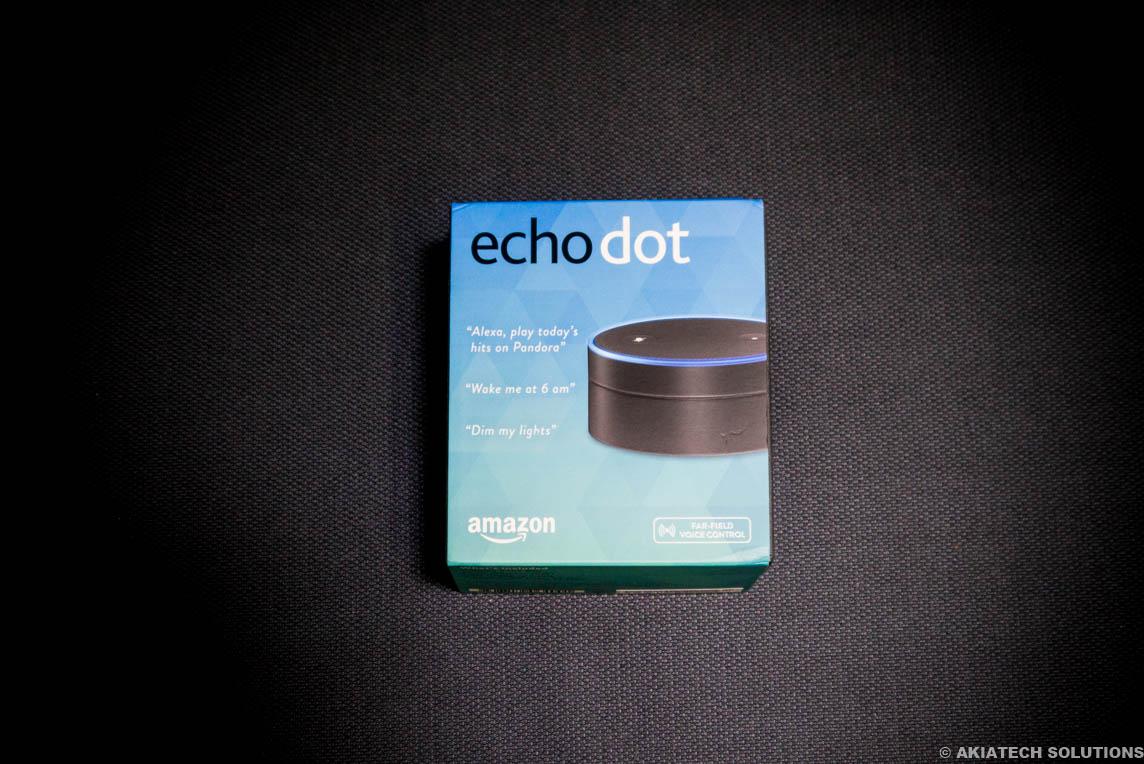 amazon echo dot review mini alexa akiatech solutions. Black Bedroom Furniture Sets. Home Design Ideas