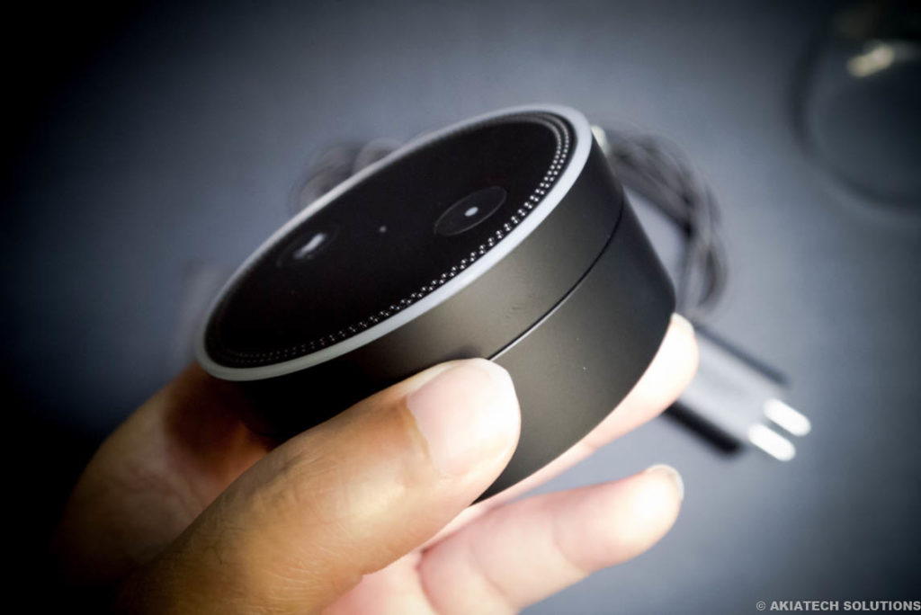 Echo Dot Side Profile