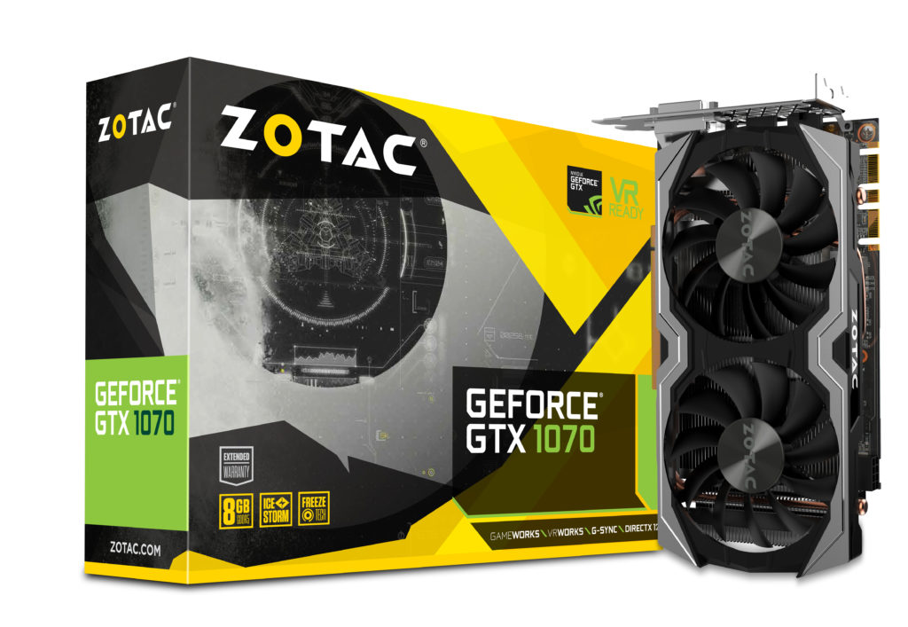 Zotac GTX 1070 Mini on Amazon
